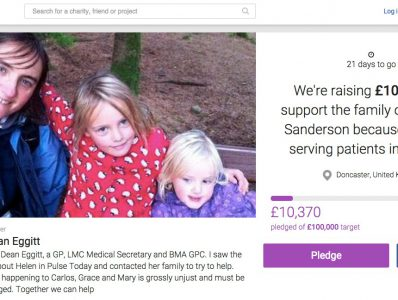 Appeal to help family of death-out-of-service locum GP