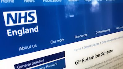 New GP retention scheme from NHS England