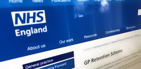 New GP retention scheme from NHS England