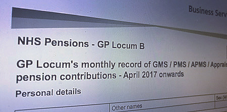 April Locum Bs must include extra 0.08% for all payments