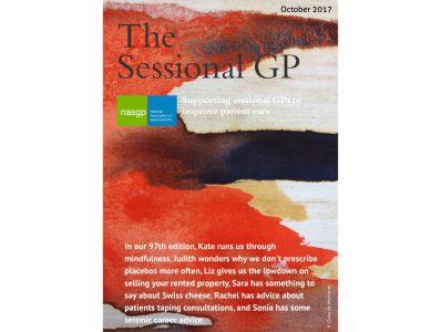 Podcast | Review of the October 2017 edition of the NASGP's The Sessional GP magazine