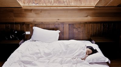 Getting a good nights sleep